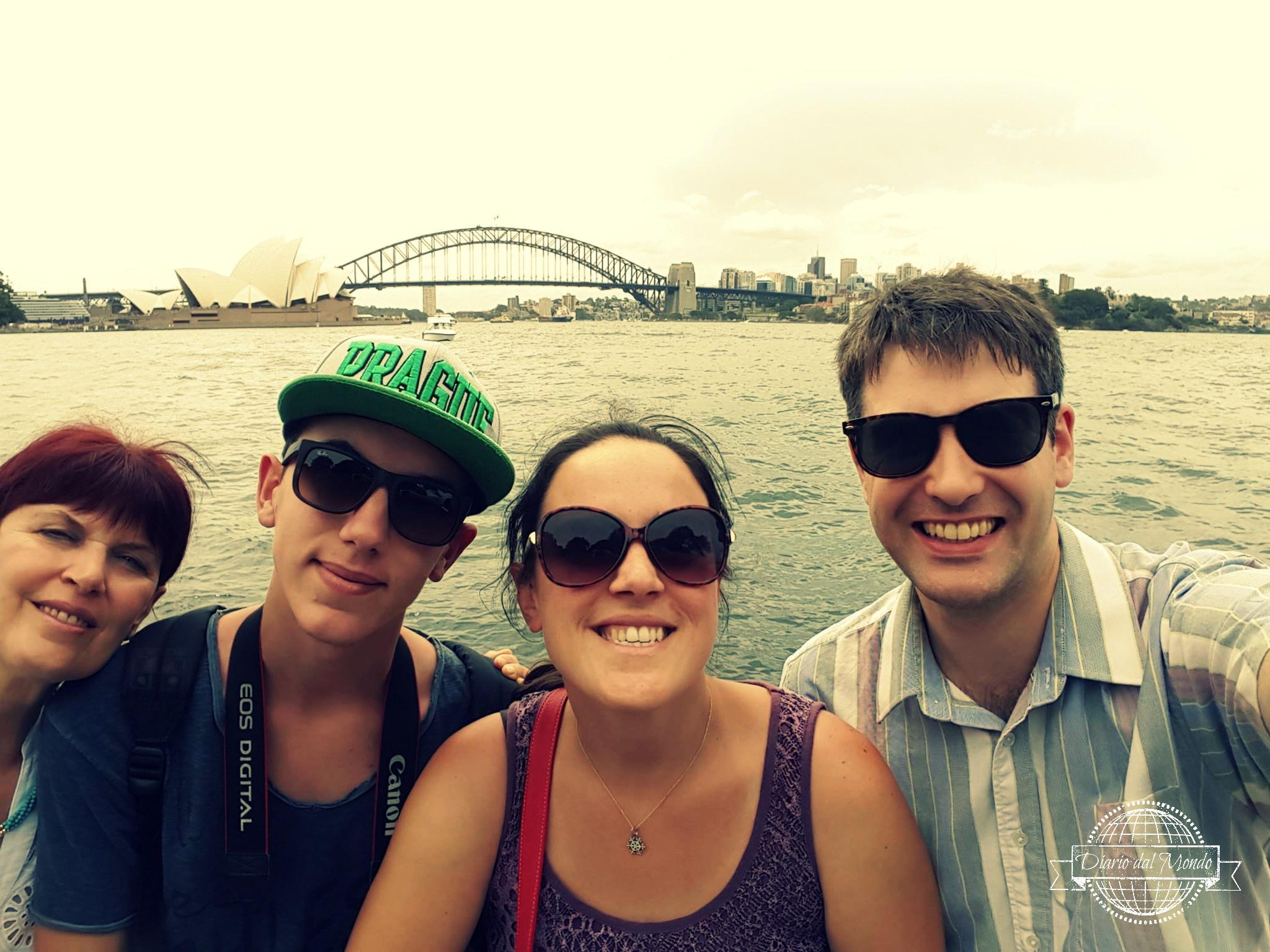 la prima volta in Australia