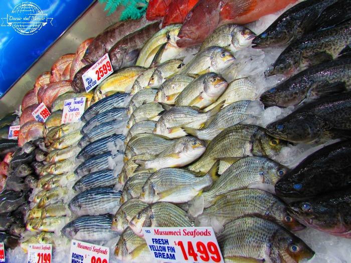 fish at sydney fish market