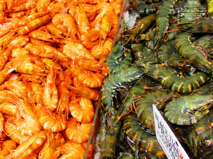 shrimps at sydney fish market