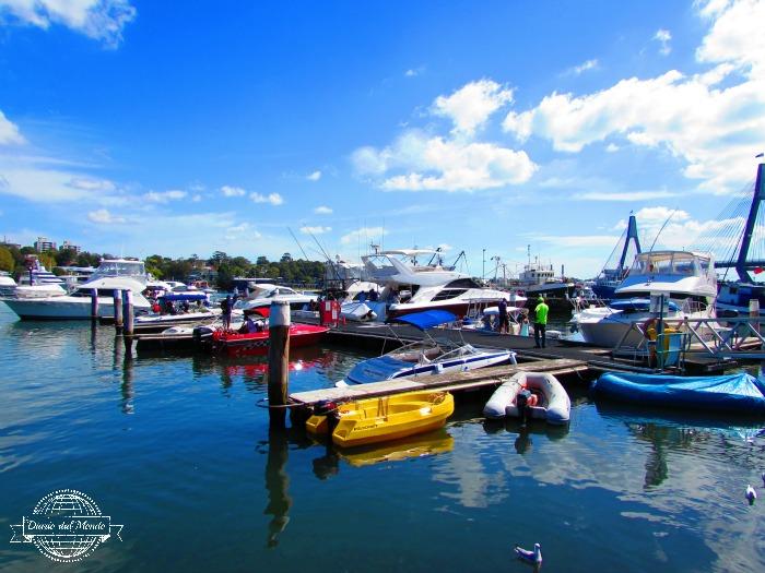 sydney fish market docks