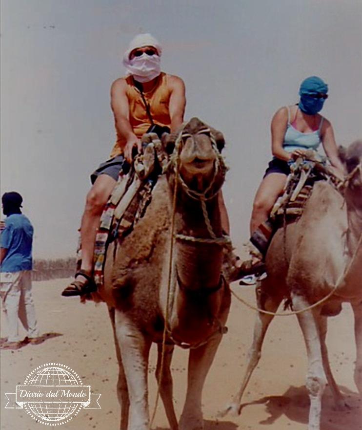 Papa' sul cammello