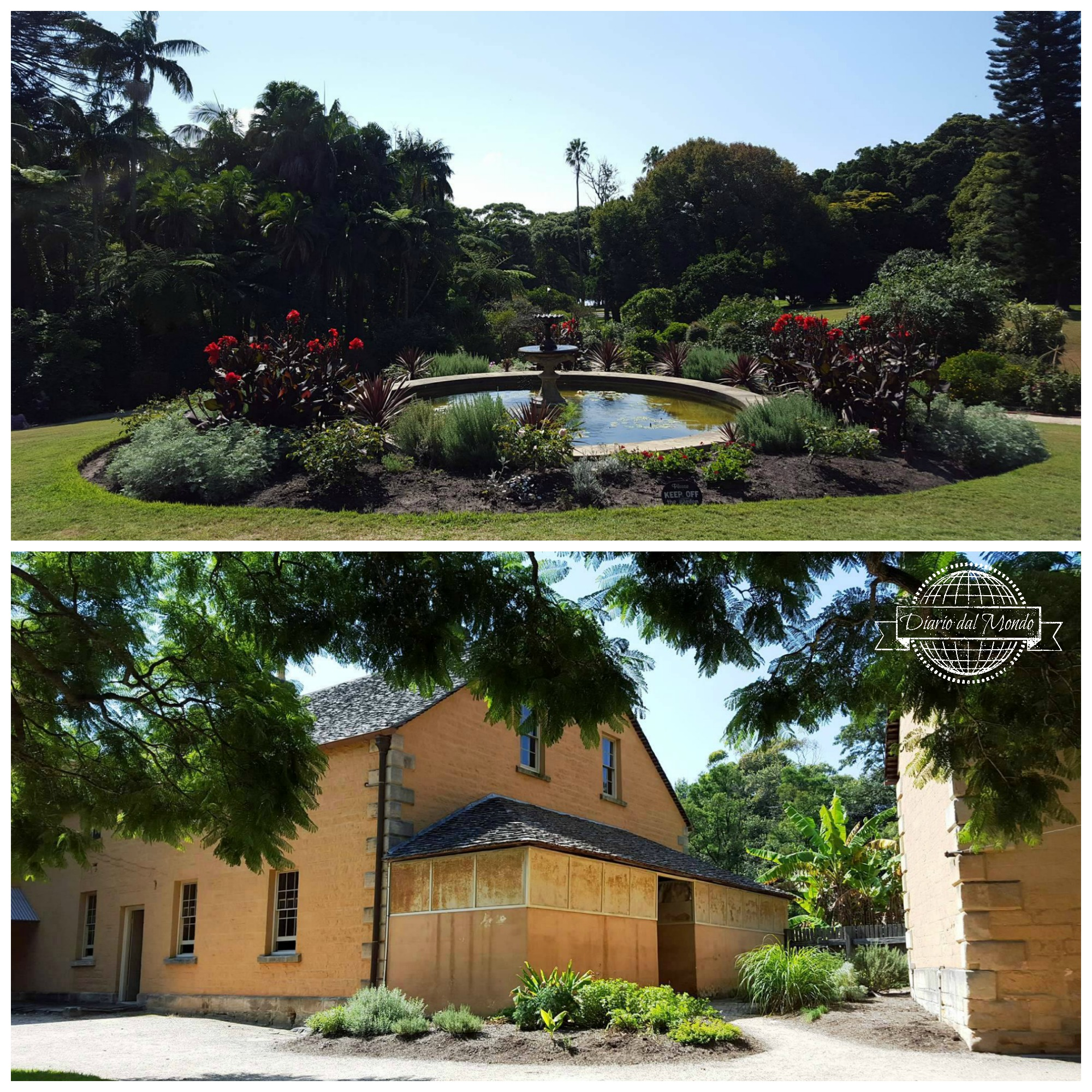 Vaucluse House grounds