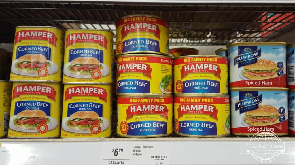 I cibi strani dei supermercati australiani